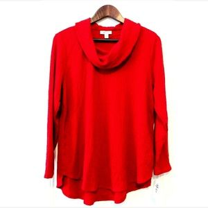 Style & Co Long Sleeve Cowl Neck